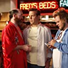 David Koechner, Tyler Labine, and Jason Sudeikis in A Good Old Fashioned Orgy (2011)