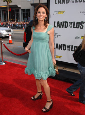 Amy Brenneman at an event for Land of the Lost (2009)