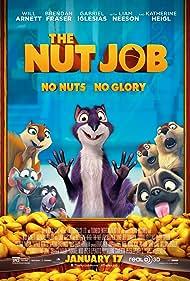 Katherine Heigl, Will Arnett, Jeff Dunham, Gabriel Iglesias, Joe Pingue, and Maya Rudolph in The Nut Job (2014)