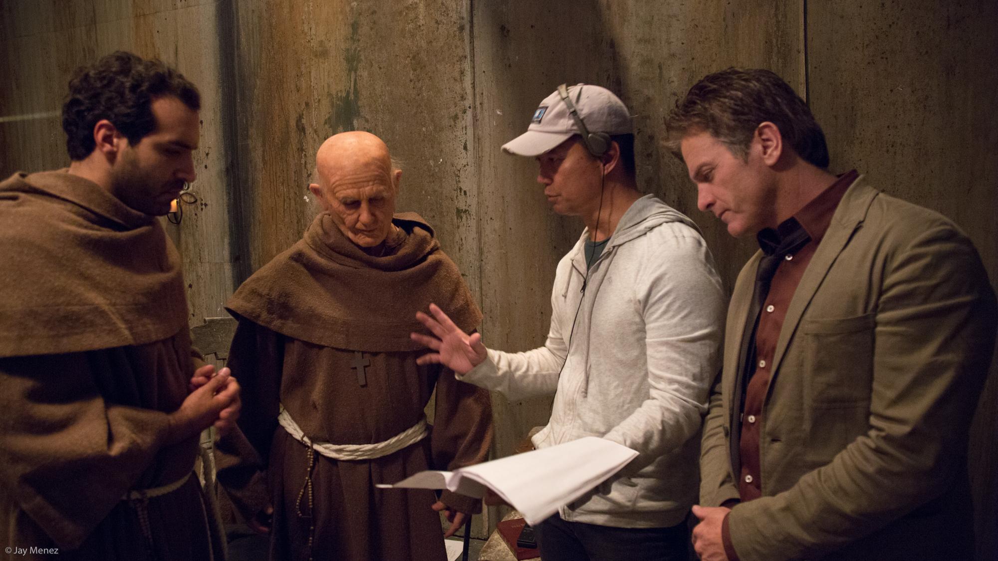 Sanctuary (2016) Actors Alain Washnevsky, Sava Markovic, Jon Briddell and Director Jay Menez
