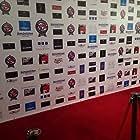 Cinerockom Red Carpet set up.