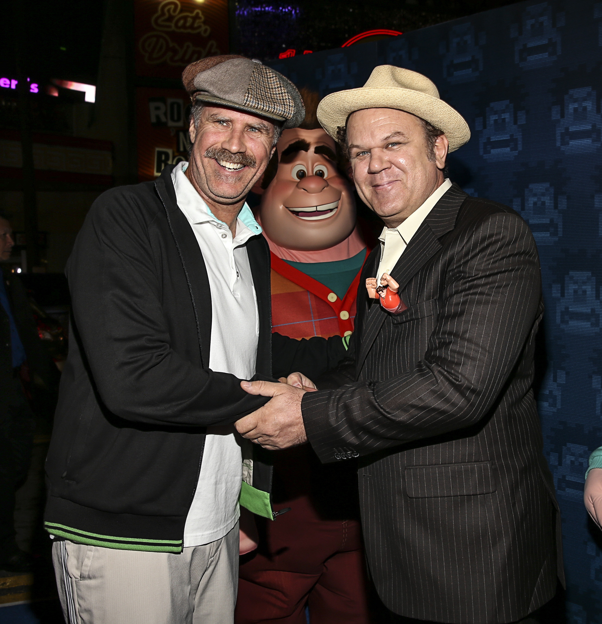 John C. Reilly and Will Ferrell at an event for Wreck-It Ralph (2012)