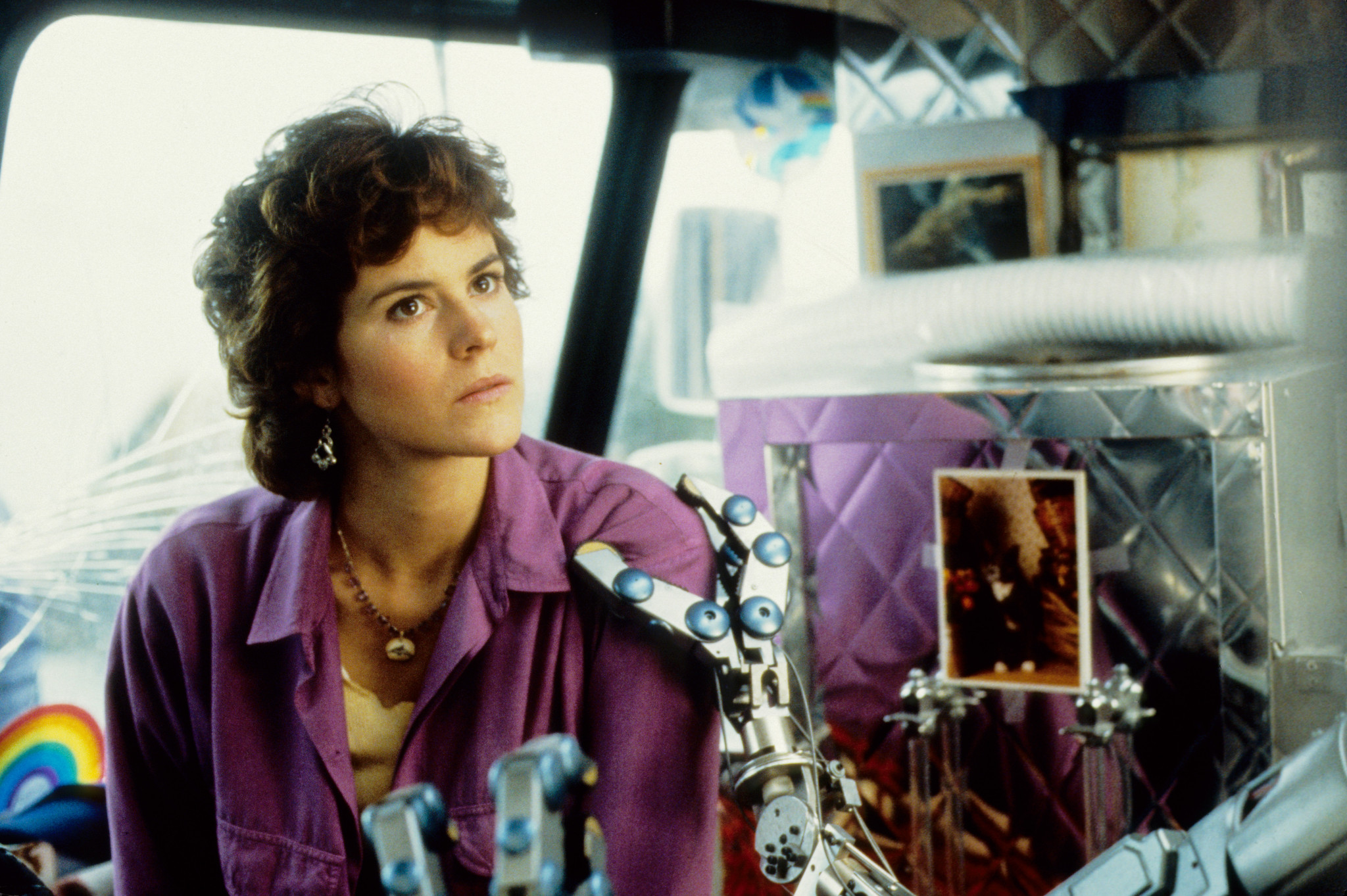 Ally Sheedy in Short Circuit (1986)