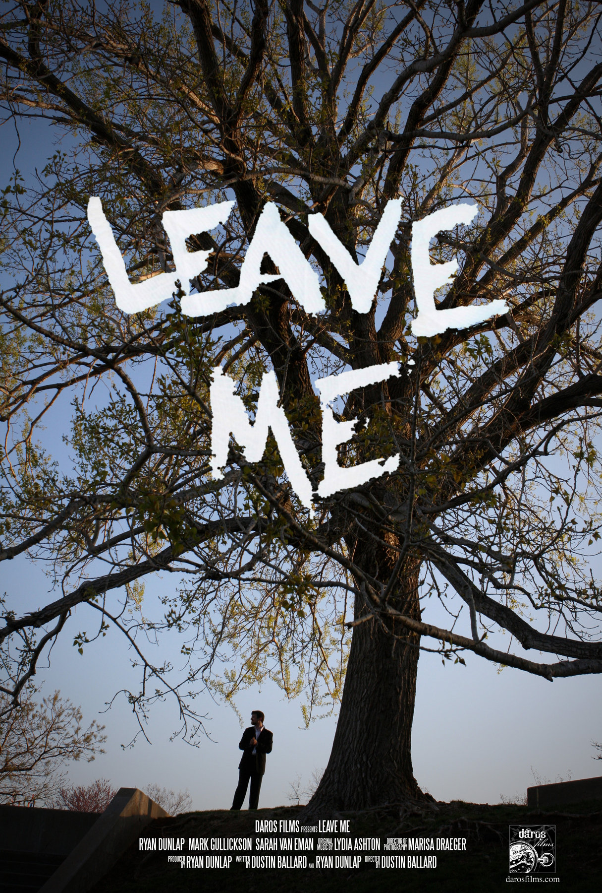 Official Poster of Leave Me