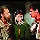 Stephen Boyd, Haya Harareet, and Sam Jaffe in Ben-Hur (1959)