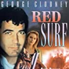 George Clooney and Dedee Pfeiffer in Red Surf (1989)