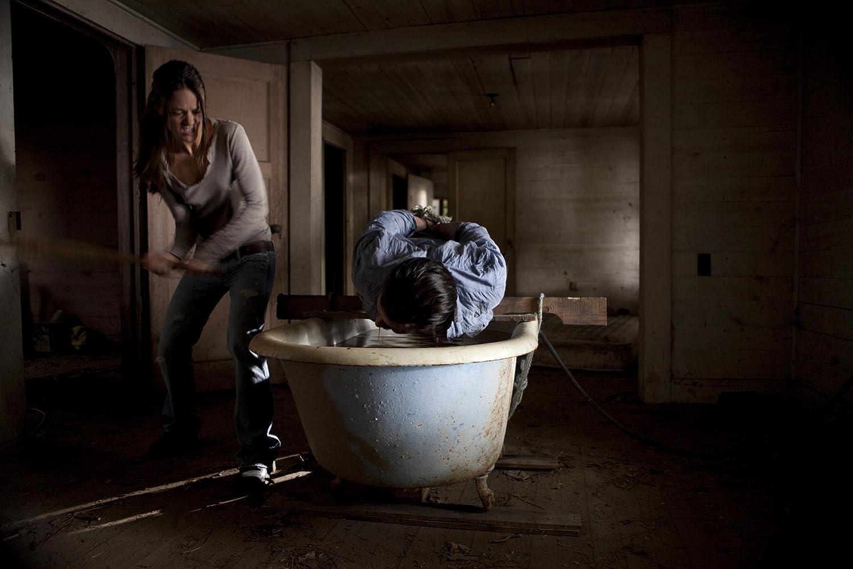 Ondanks alle nare beelden is en blijft de film I Spit On Your Grave vermakelijk om naar te kijken
