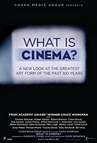 Primary photo for What Is Cinema?