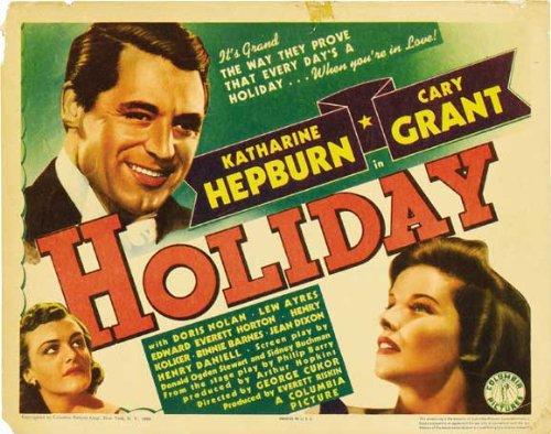 Cary Grant, Katharine Hepburn, and Doris Nolan in Holiday (1938)