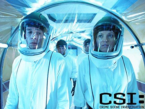 Jorja Fox and Eric Szmanda in CSI: Crime Scene Investigation (2000)