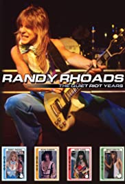 Randy Rhoads the Quiet Riot Years Poster