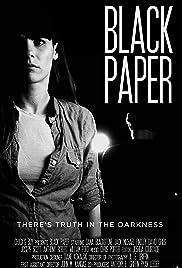 Black Paper Poster