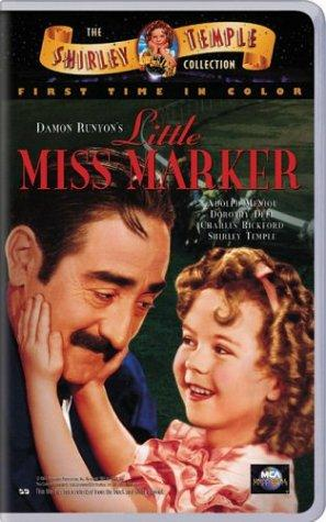 Shirley Temple and Adolphe Menjou in Little Miss Marker (1934)