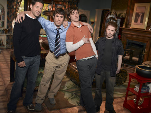 Seth Green, Shane McRae, Josh Cooke, and Todd Grinnell in Four Kings (2006)