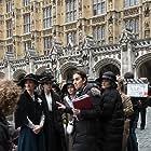 Helena Bonham Carter, Anne-Marie Duff, Romola Garai, Sarah Gavron, and Carey Mulligan in Suffragette (2015)