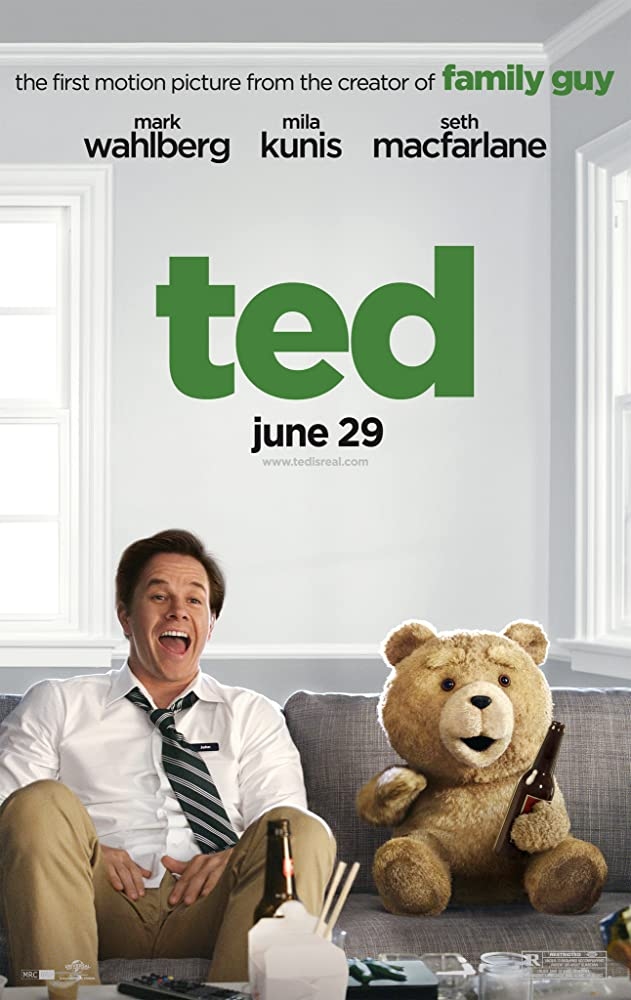 Ted (2012) BluRay – 720p ORG UNRATED [Hindi + Eng+ Telugu + Tamil]