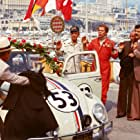 Dean Jones, Don Knotts, and Herbie in Herbie Goes to Monte Carlo (1977)