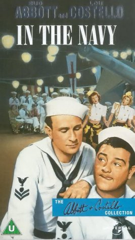 Bud Abbott, Lou Costello, and The Andrews Sisters in In the Navy (1941)
