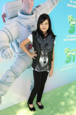 Bailee Madison at an event for Planet 51 (2009)