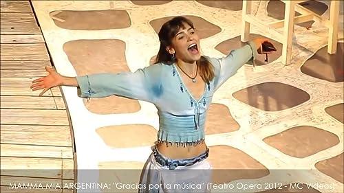 Paula Reca, Mamma Mia! Argentina