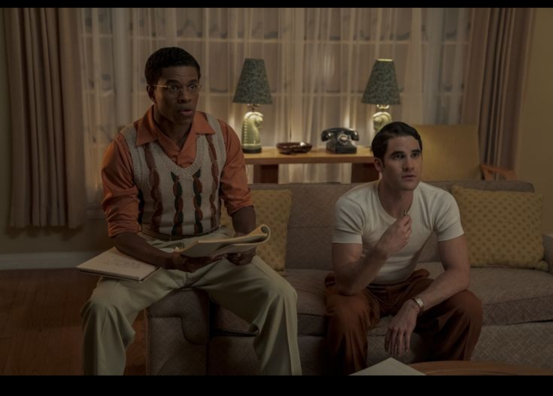 Darren Criss and Jeremy Pope in (Screen) Tests (2020)