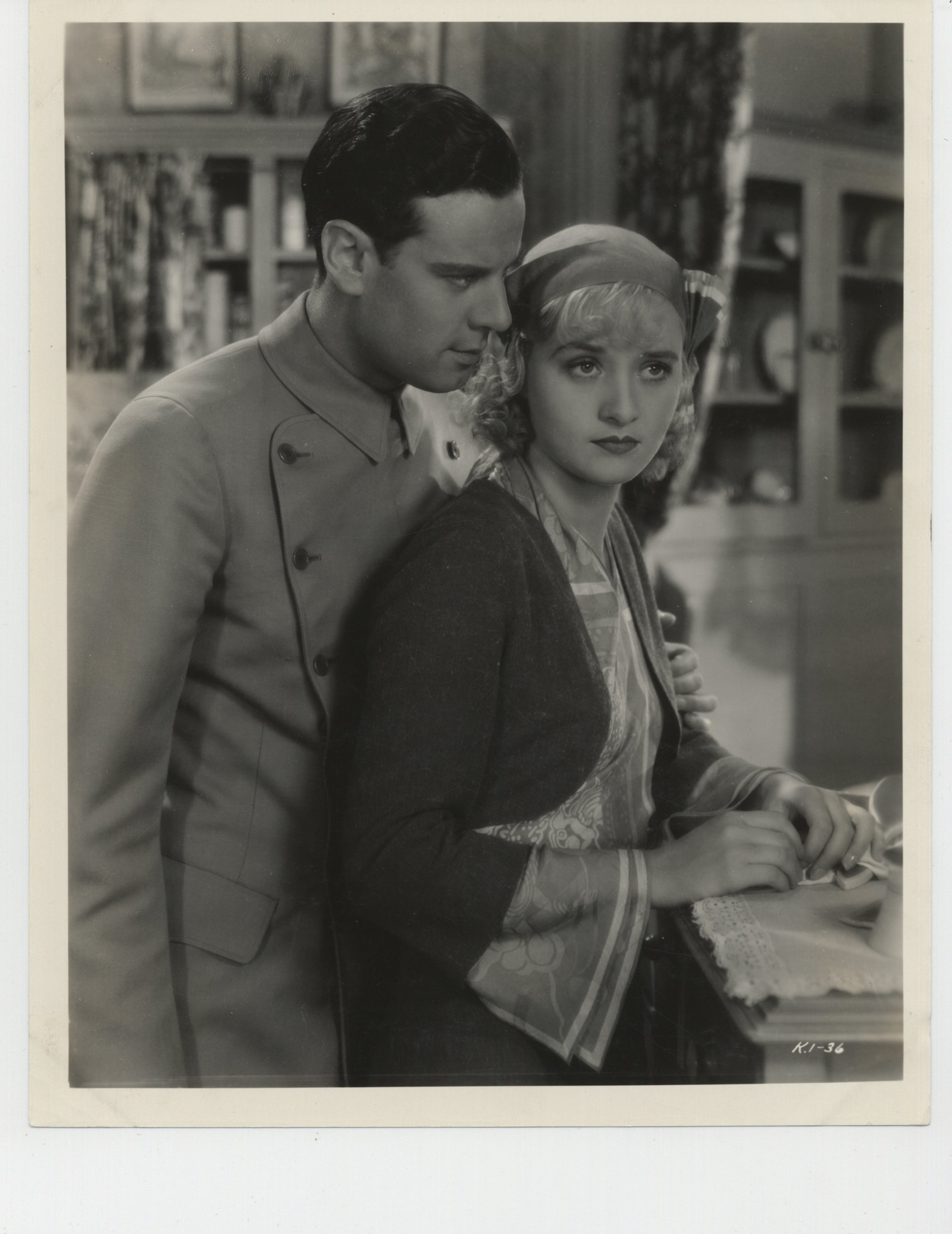 Norman Foster and Marian Marsh in Strange Justice (1932)