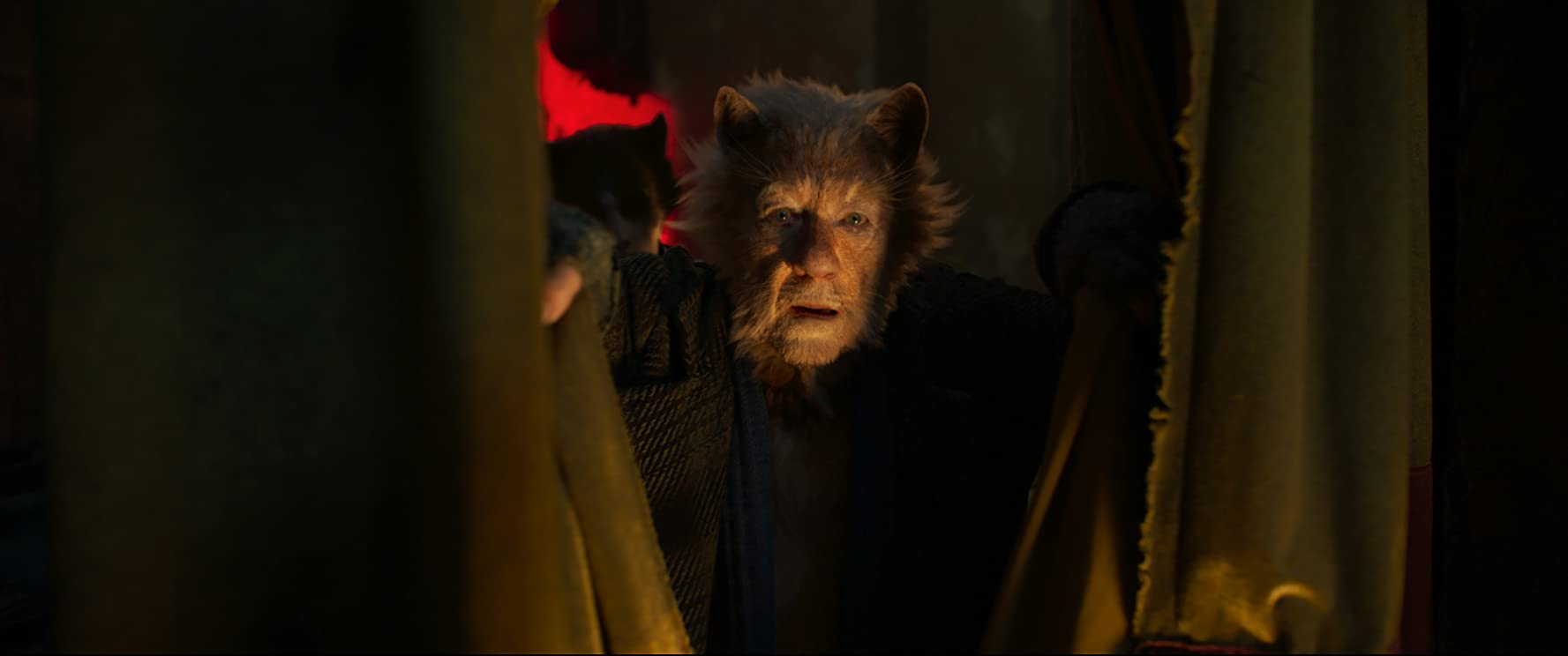 Ian McKellen and Laurie Davidson in Cats (2019)