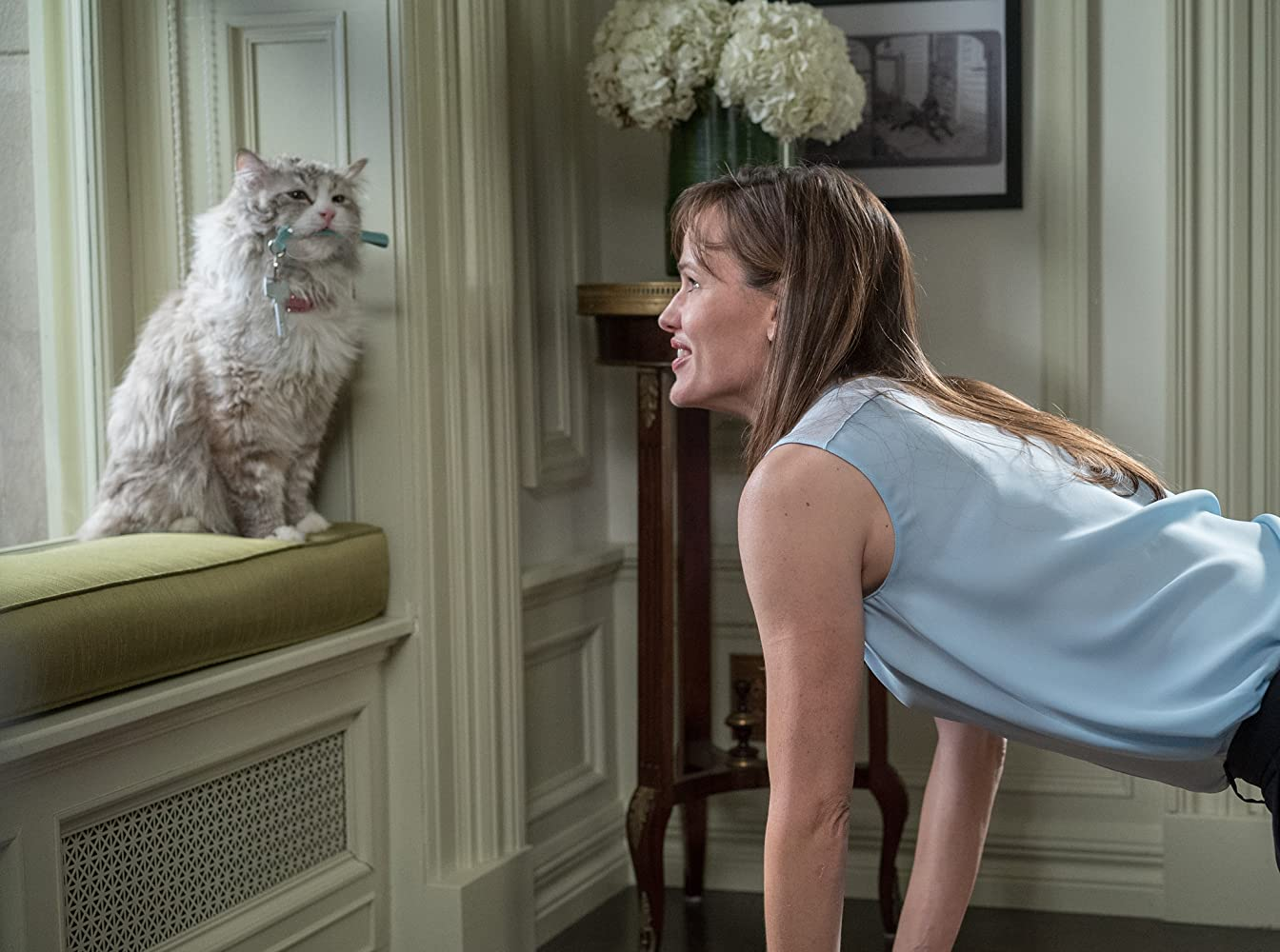 Kevin Spacey and Jennifer Garner in Nine Lives (2016)