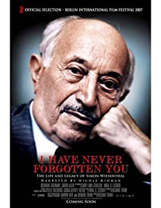 2018 movies direct download I Have Never Forgotten You: The Life \u0026 Legacy of Simon Wiesenthal [[movie]