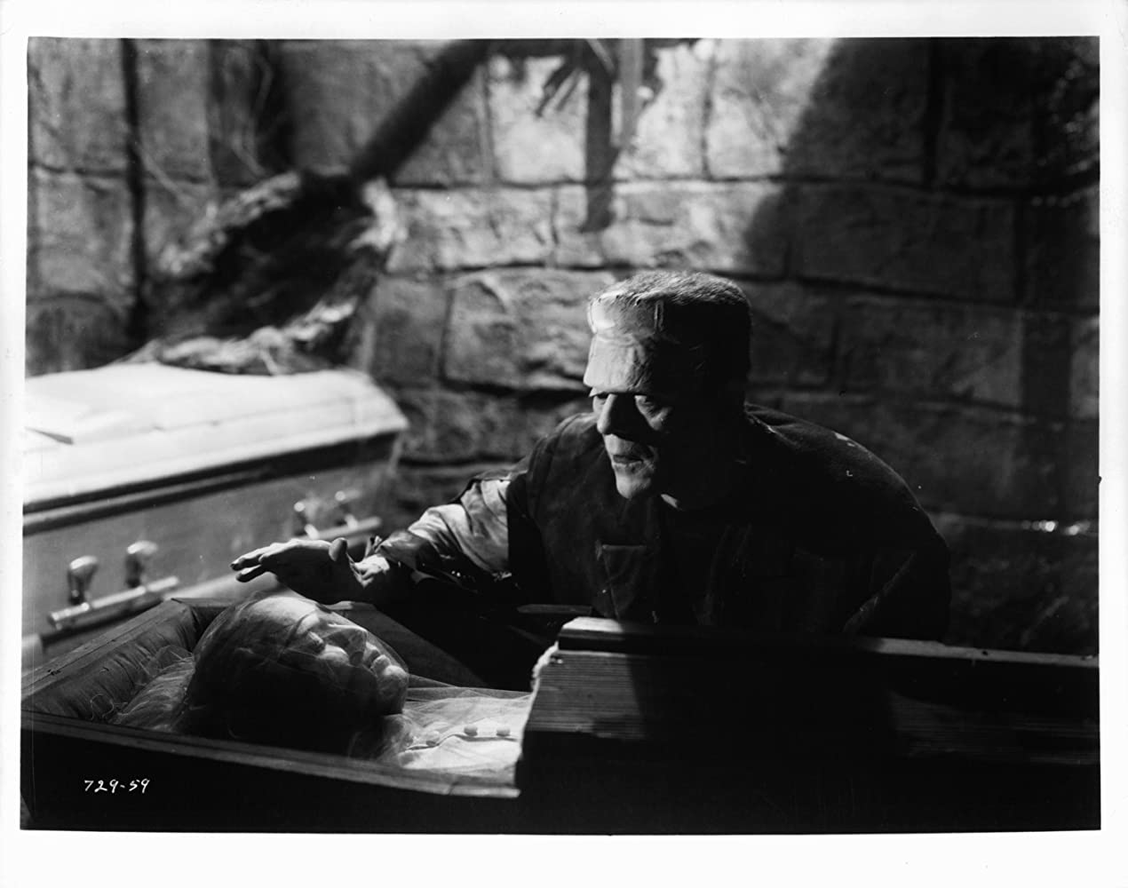 Boris Karloff in Bride of Frankenstein (1935)