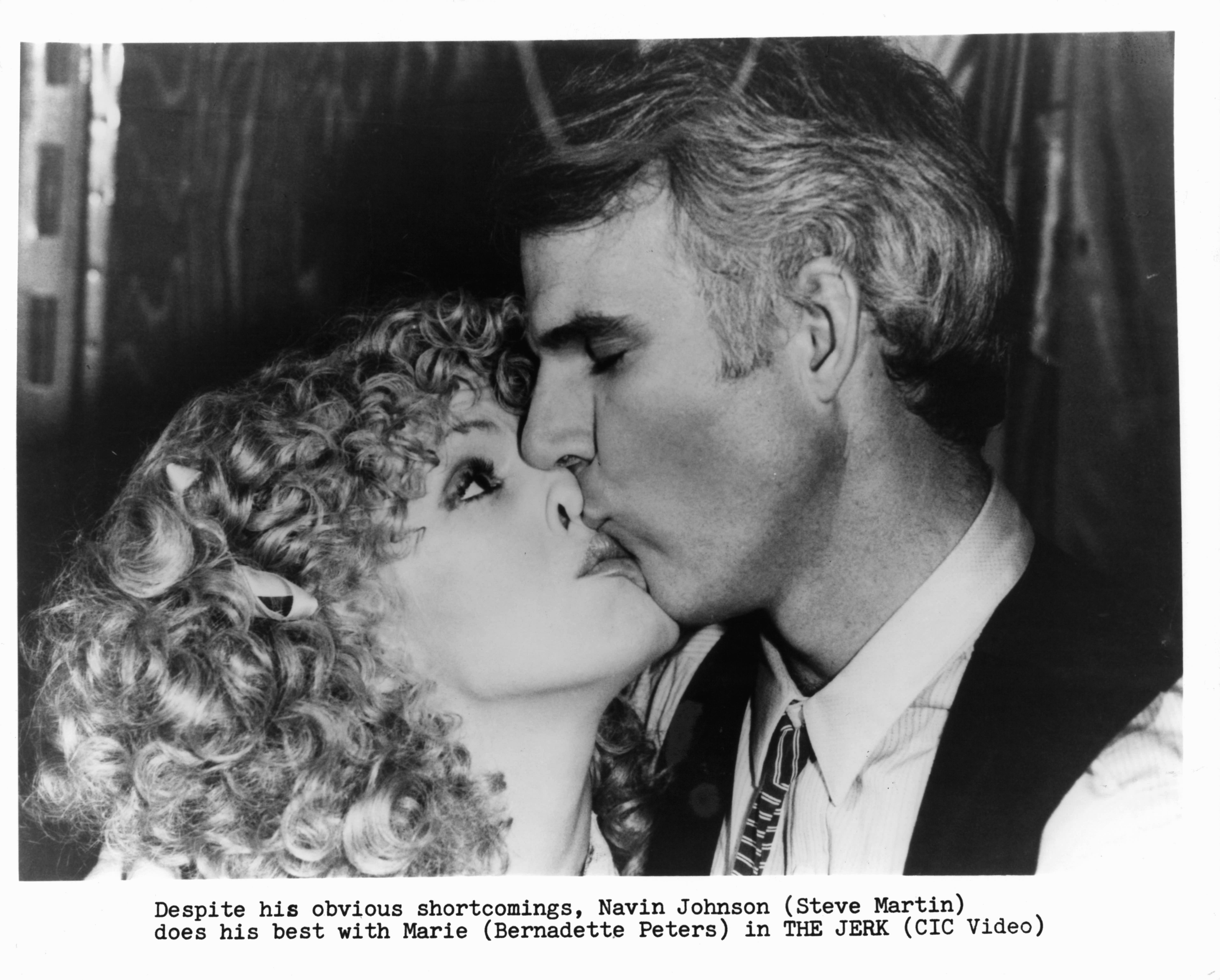 Steve Martin and Bernadette Peters in The Jerk (1979)