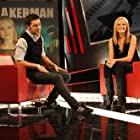 Malin Akerman and George Stroumboulopoulos in The Hour (2004)