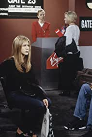 Jennifer Aniston and David Schwimmer in Friends (1994)