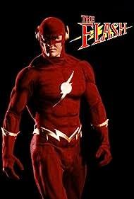 Dane Farwell and John Wesley Shipp in The Flash (1990)