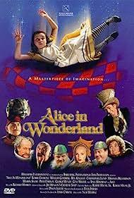 Whoopi Goldberg, Christopher Lloyd, Robbie Coltrane, Tina Majorino, and Martin Short in Alice in Wonderland (1999)