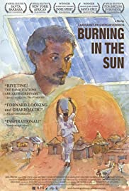 Burning in the Sun Poster