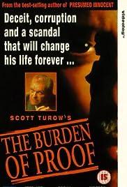 The Burden of Proof Poster