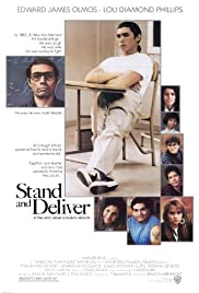 Stand and Deliver (1988) Poster - Movie Forum, Cast, Reviews