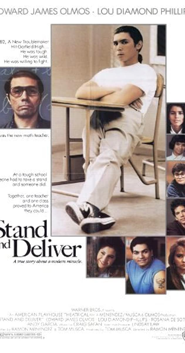 Play or Watch Movies for free Stand and Deliver (1988)