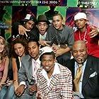 Wesley Jonathan, Shad Moss, Chi McBride, Marcus T. Paulk, Jurnee Smollett, Brandon T. Jackson, Khleo Thomas, and Daniel Yabut at an event for Roll Bounce (2005)