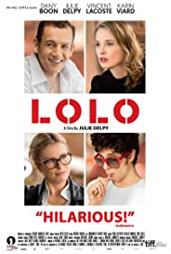 Julie Delpy, Dany Boon, Karin Viard, and Vincent Lacoste in Lolo (2015)