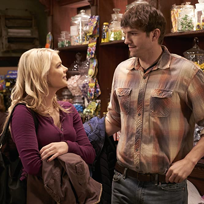 Ashton Kutcher and Kelli Goss in The Ranch (2016)