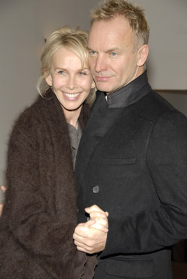 Sting and Trudie Styler at an event for A Guide to Recognizing Your Saints (2006)