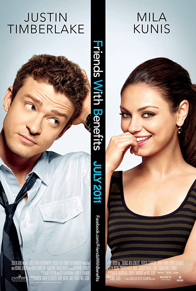 Mila Kunis and Justin Timberlake in Friends with Benefits (2011)