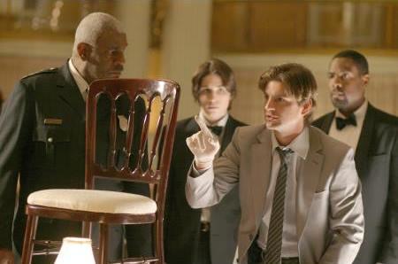John Patrick Amedori, Richard Gant, Gale Harold, and Joseph C. Phillips in Vanished (2006)