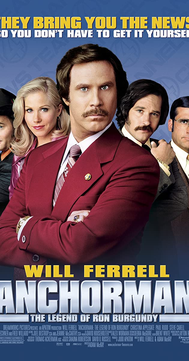 Subtitle of Anchorman: The Legend of Ron Burgundy