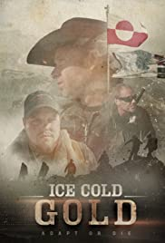 Ice Cold Gold Poster