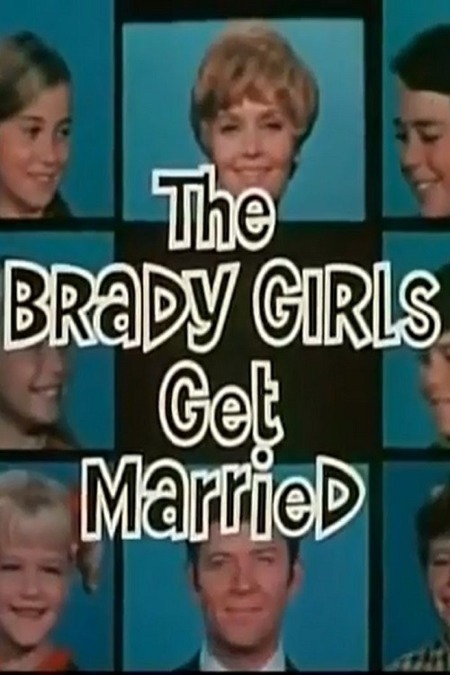 Eve Plumb, Florence Henderson, Susan Olsen, Robert Reed, Christopher Knight, Mike Lookinland, Maureen McCormick, and Barry Williams in The Brady Girls Get Married (1981)