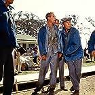 Paul Newman, Lou Antonio, and James Gammon in Cool Hand Luke (1967)