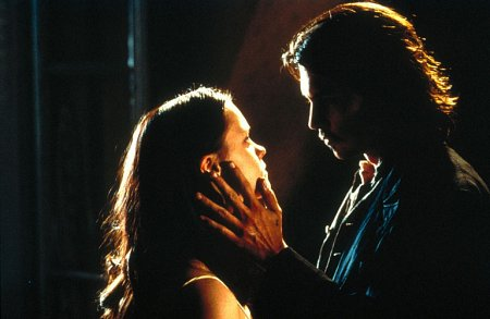 Johnny Depp and Christina Ricci in The Man Who Cried (2000)